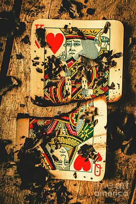 Poker War Revolt Poster