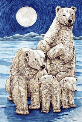 Polar Family Poster