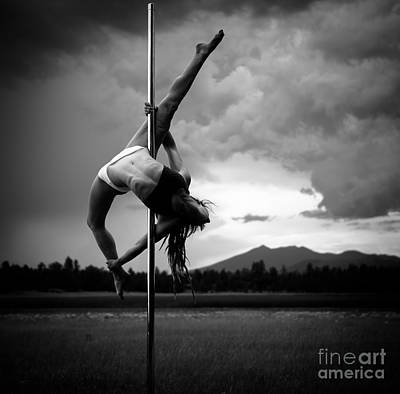 Pole Dance 1 Poster by Scott Sawyer