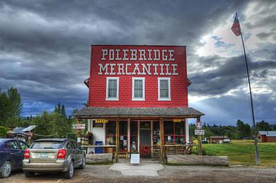 Polebridge Mercantile Poster