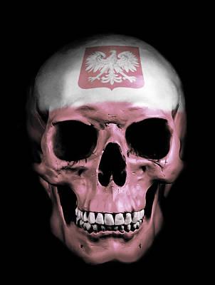 Polish Skull Poster by Nicklas Gustafsson