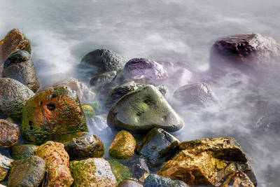 Polished Rocks Poster