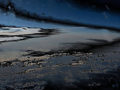 Polished Sky Poster