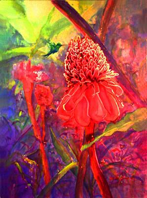 Pollen Poster by Estela Robles
