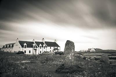 Pollochar Inn And Standing Stone Poster
