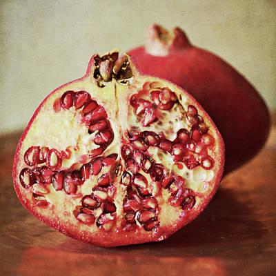 Pomegranate Poster by Pamela N. Martin