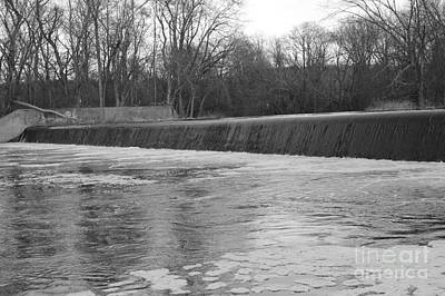 Pompton Spillway In January Poster
