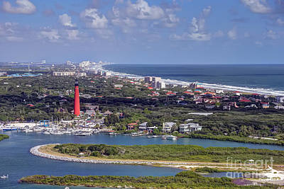 Ponce Inlet Poster by Rick Mann