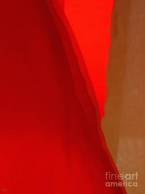 Poncho Abstract 4 Poster by Jeff Breiman