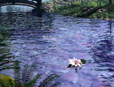 Pond Poster by Cynthia Decker