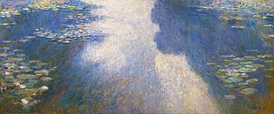 Pond Monet Poster by Valeriy Mavlo