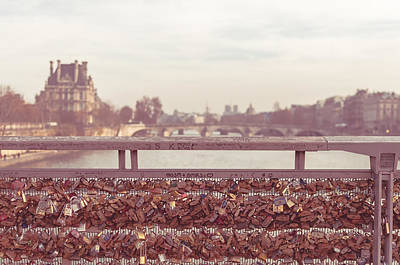 Pont Des Arts Poster by Marcus Karlsson Sall