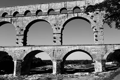 Pont Du Gard 2b Poster by Andrew Fare