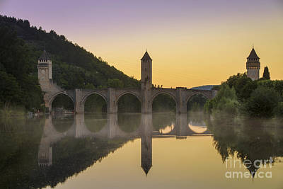 Pont Valentre - Cahors Poster by Brian Jannsen