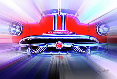 Pontiac 1953 Poster