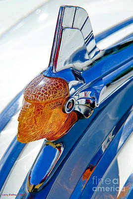 Pontiac Art Deco Hood Ornament Poster