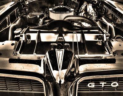 Pontiac Gto 028 Poster by Jeff Stallard