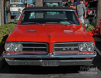 Poster featuring the photograph Pontiac Gto by Dodie Ulery