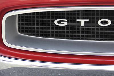 Pontiac Gto  Poster by Mike McGlothlen