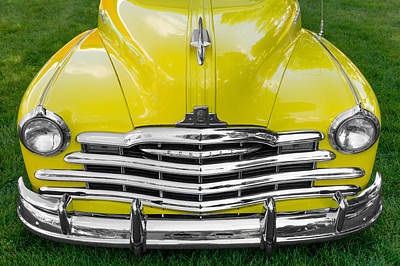 1948 Pontiac Poster by Jim Hughes