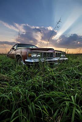 Pontiac Sunset  Poster