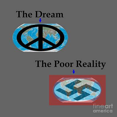 Poor Reality 2 Poster by Frederick Holiday