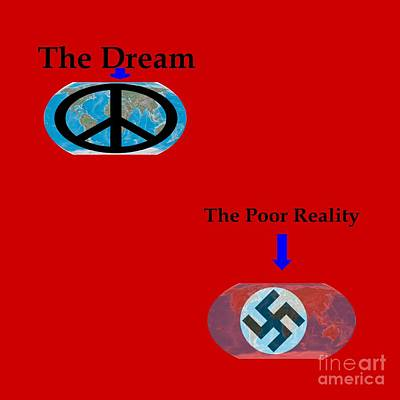 Poor Reality Poster by Frederick Holiday