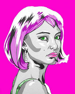 Pop Art Portman Poster