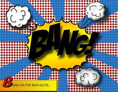 Pop Bang Poster