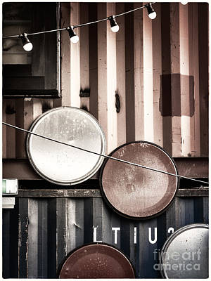 Pop Brixton - Industrial Style Poster by Lenny Carter
