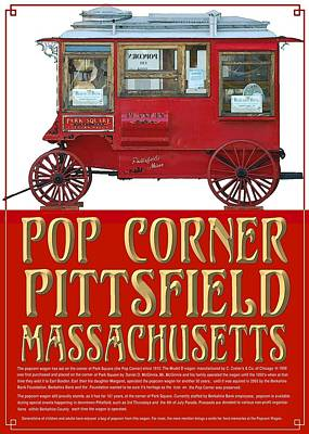 Pop Corner With History Poster by Len Stomski