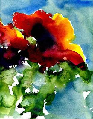 Poppy Poster by Anne Duke