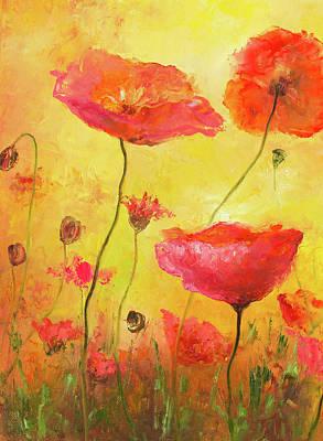 Poppy Delight Poster by Jan Matson