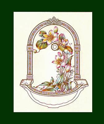 Porcelain Wash Basin One Poster
