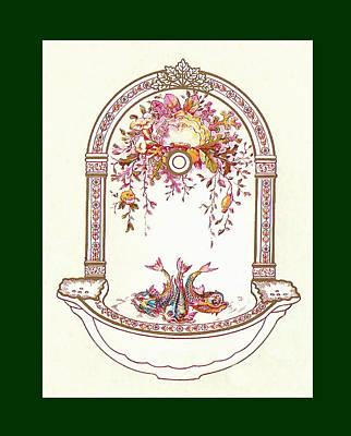 Porcelain Wash Basin Three Poster