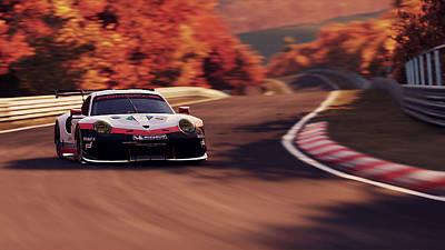 Porsche 911 Rsr, Nordschleife - 41 Poster