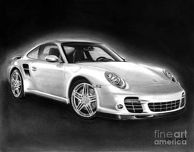 Porsche 911 Turbo    Poster by Peter Piatt