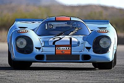 Porsche 917 Shorttail Poster
