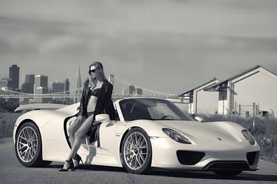 #porsche #918spyder And #kim Poster by ItzKirb Photography