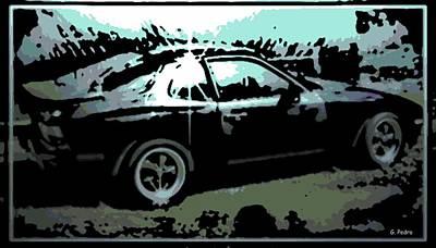 Porsche 944 Poster by George Pedro