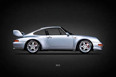 Porsche 993 Poster by Mark Rogan