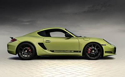 Porsche Cayman R Poster