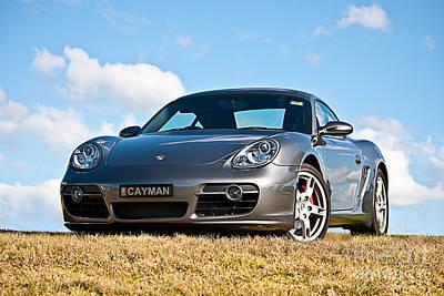Porsche Cayman Poster