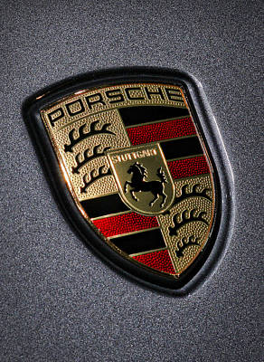Porsche Poster by Gordon Dean II