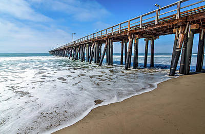 Port Hueneme Fishing Pier Poster