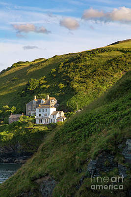 Poster featuring the photograph Port Isaac Homes by Brian Jannsen