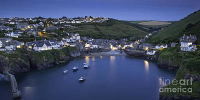 Port Isaac Pano Poster by Brian Jannsen