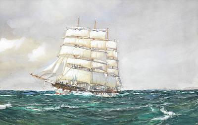Port Jackson Poster by Montague Dawson