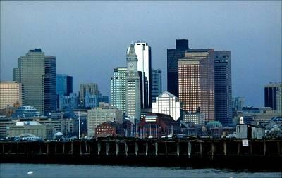 Port Of Boston Poster