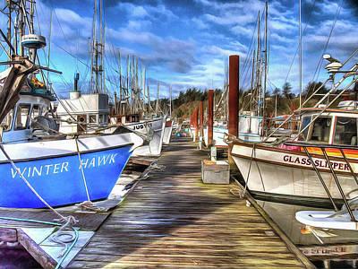 Port Of Newport Dock No 7 Poster